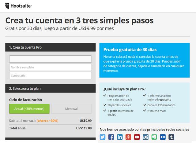 hootsuite-español-gratis